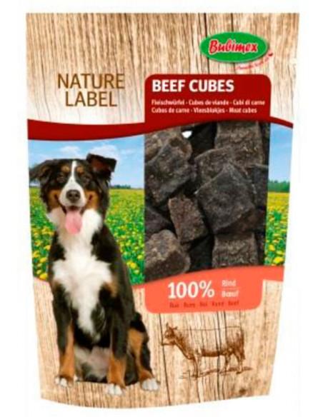 Snack para perro cubitos de vaca de Bubimex