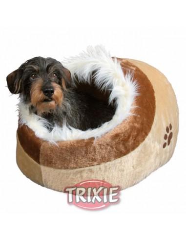 Cuna para perro con funda de poliester y cojín reversible modelo Minou