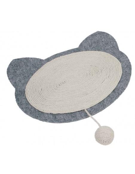 Rascador para gatos alfombra de fieltro y sisal