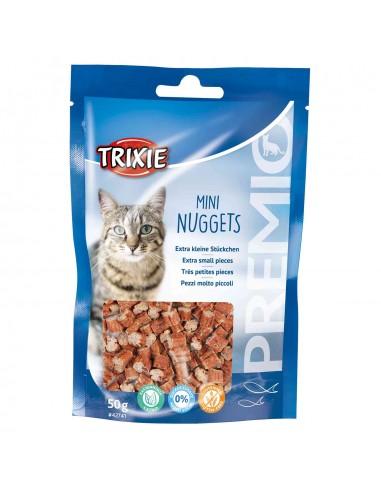 Snacks gato a base de atun y pollo
