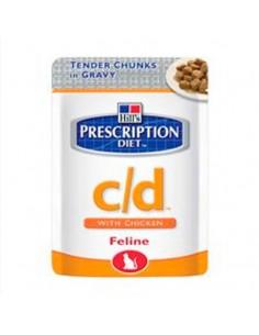 Pienso para gatos Hills C/d Urinary Tract Health (alimento húmedo)