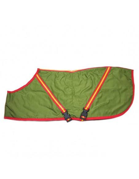 Ropa para perro -  abrigo para Galgo deportivo Verde ribeteado