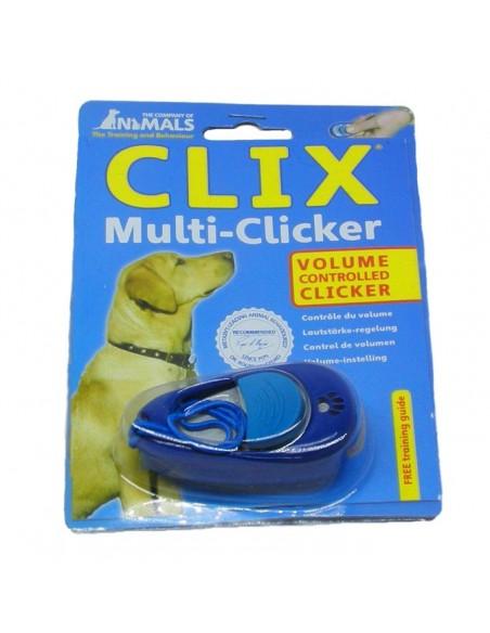 Multi clicker de adiestramiento