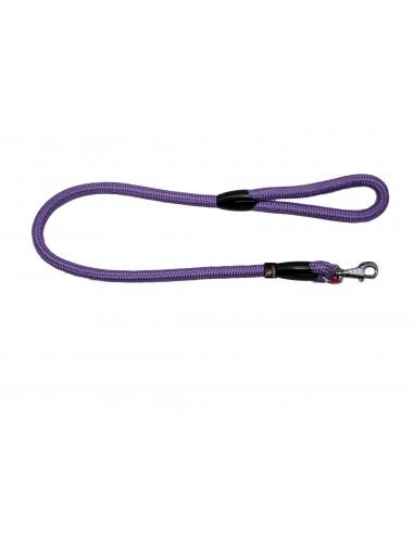 Correa para perro cordón tipo cuerda malva