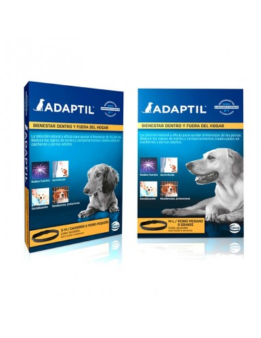 ADAPTIL collar a base de feromonas para perros