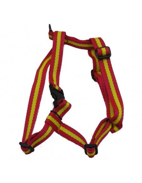 Arnes para perros nylon bandera de España