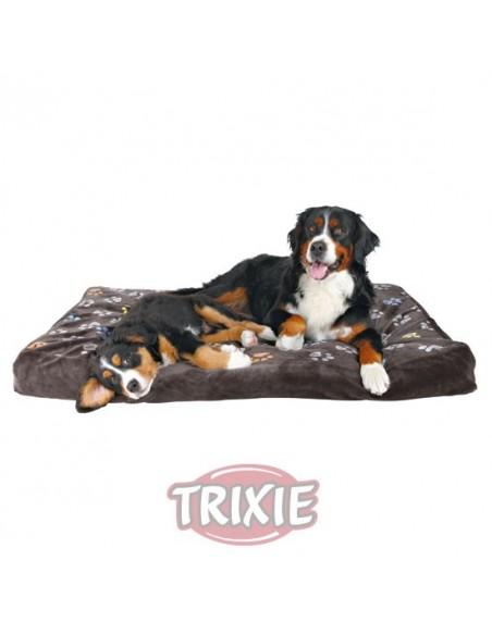 Cama para perro gruesa en color gris