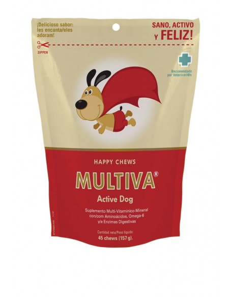 MULTIVA ACTIVE DOG complemento multivitamínico para perros