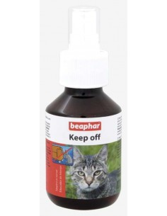 Repelente educador natural para gato Keep off