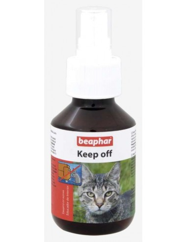Repelente educador natural para gato Keep off