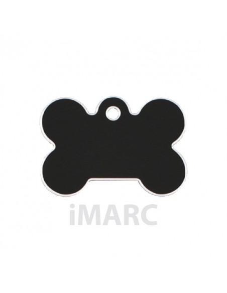 Placa identificativa para perro, hueso pequeño en colores