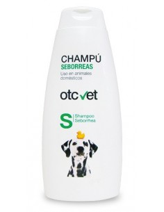 Champú para perros OTC vet para tratamiento de seborreas
