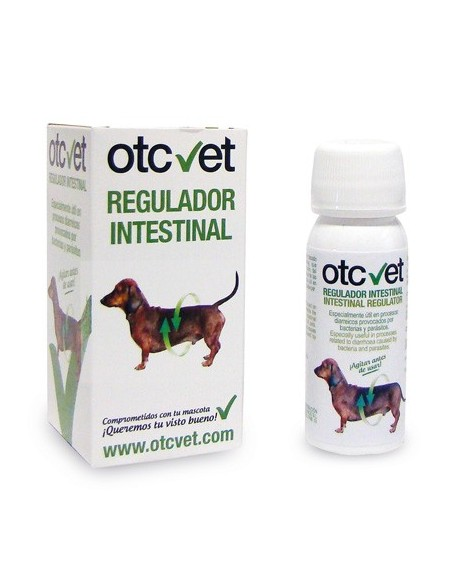 Regulador intestinal OTC vet para perros y gatos