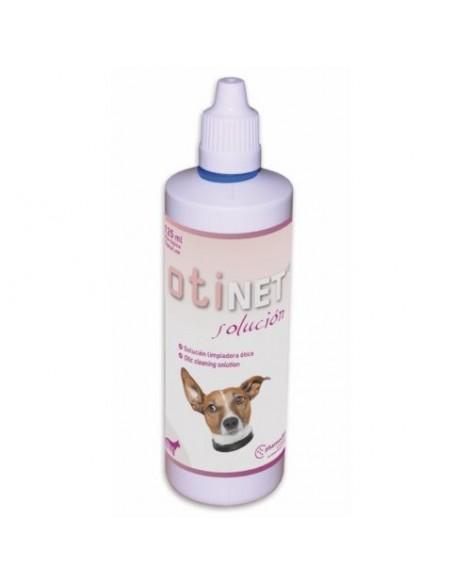 OTINET solución para la higiene del conducto auditivo de perros y gatos
