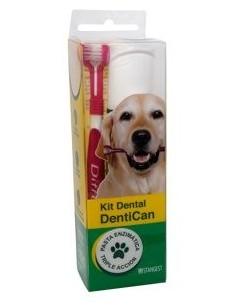Pasta dental enzimática para perros DENTICAN más cepillo