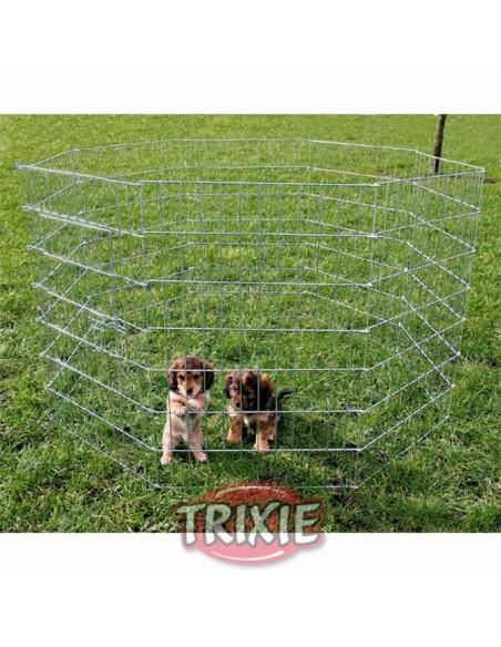 Cerramiento metálico en acero galvanizado, especial para cachorros