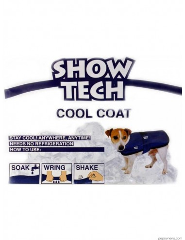capa perro show tech cool coat