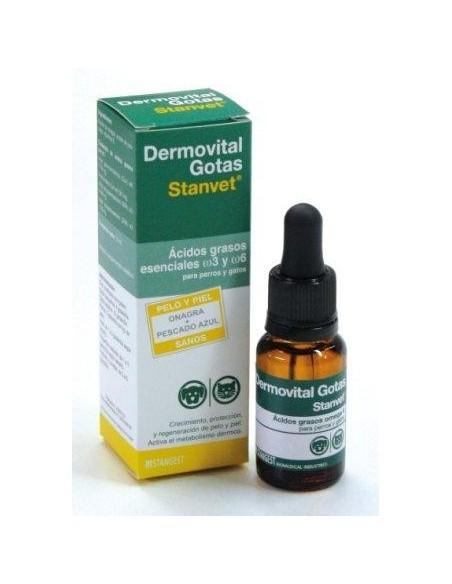 Dermovital ácidos grasos omega 3 y 6 de Stangest