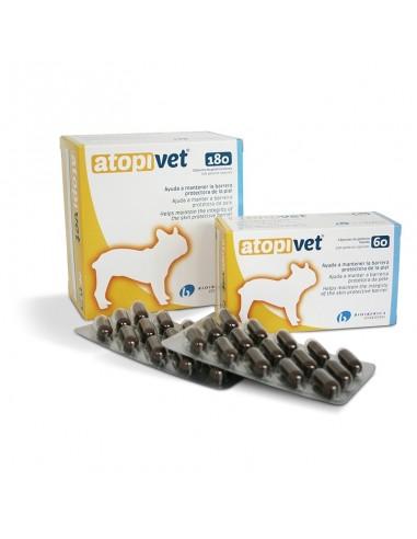 ATOPIVET ayuda a mantener la barrera protectora de la piel del perro