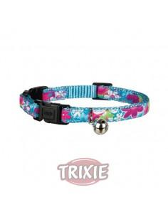Collar especial gatos pequeños motivos florales