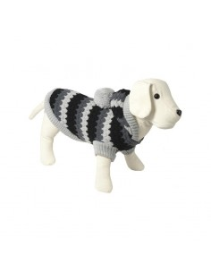 jersey para perro lana ngris