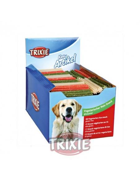 Premio para perro, palito vegetariano de arroz