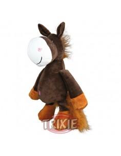 Juguete para perro en materiales suave, modelo caballo