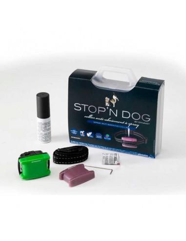 Collares para perros - Collar antiladrido educativos spray con mando a distancia