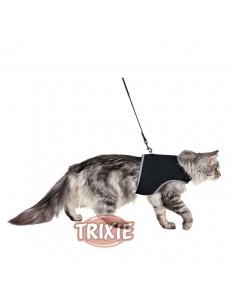 Arnés y correa para gato muy suave