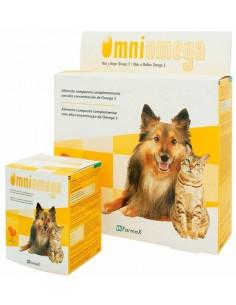 OMNIOMEGA Suplemento alimenticio Omega 3 para perros y gatos