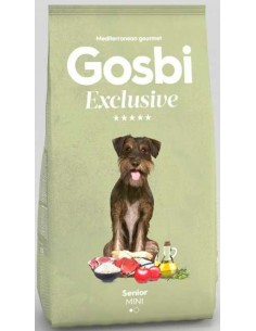 pienso para perro gosbi EXCLUSIVE SENIOR MINI