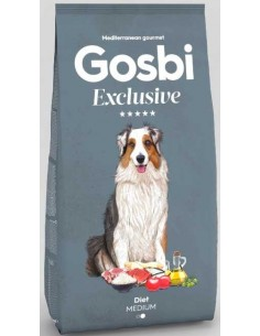 pienso para perro gosbi EXCLUSIVE DIET MEDIUM