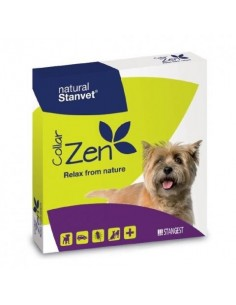 Collar ZEN a base de aceites naturales para relajar al perro