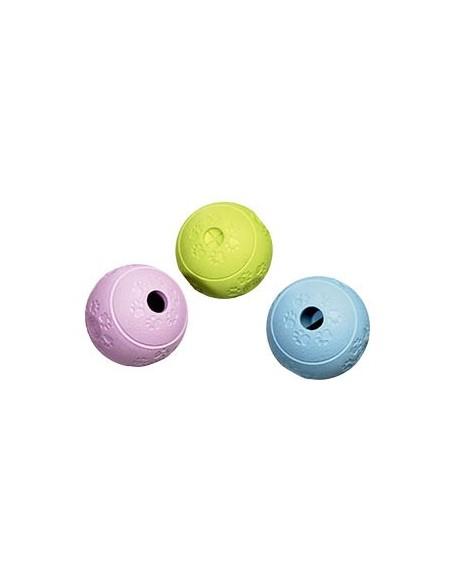 Juguete para gato pelota dispensadora de premios de olor agradable