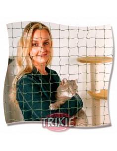 Red de protección de ventanas para gato