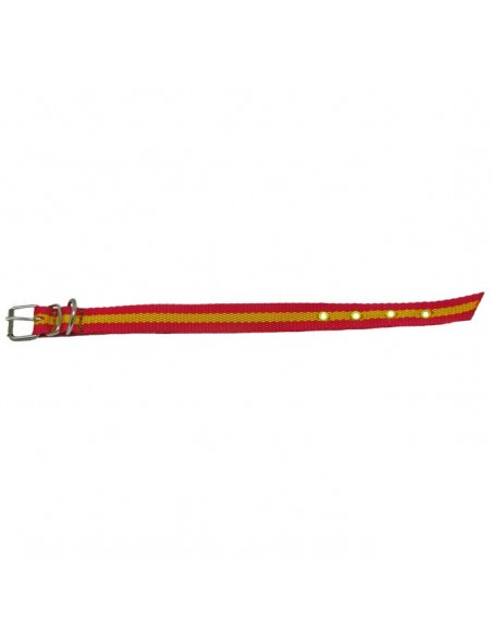 Collares para perros nylon bandera de España