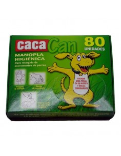 Accesorios para perros - manopla CACACAN