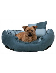 cama para perro imitacion ante