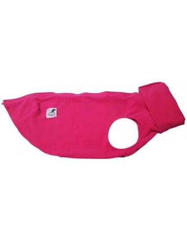 Forro polar para galgo color rosa