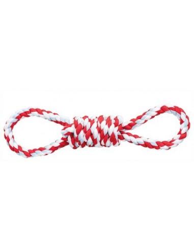 juguete perro cuerda lazos