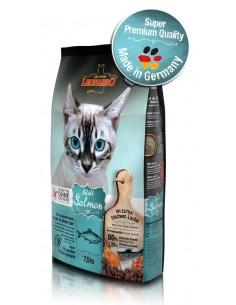 Pienso para gatos LEONARDO salmón sin cereales
