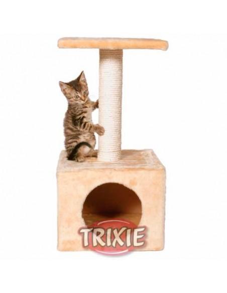 rascador gato sencillo beige