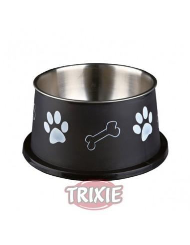Comedero en acero inoxidable especial para perros de raza Spaniel