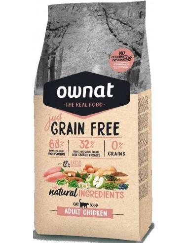 pienso para gato ownat just grain free