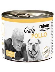 Lata comida perro Retorn only pollo