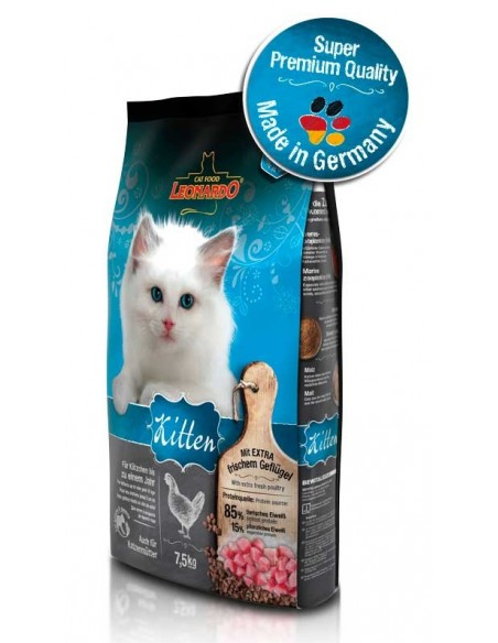 Pienso para gatos Kitten LEONARDO
