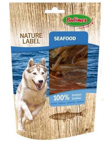 Snack para perro sardinas secas de Bubimex