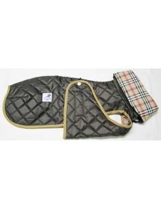 abrigo impermeable marron para galgo